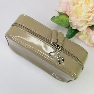 Christian Dior beauty makeup cosmetic bag